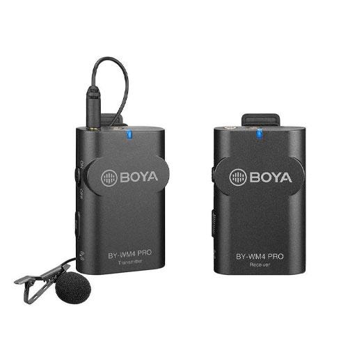 تصویر میکروفون یقه ای بیسیم بویا مدل BY-WM4 PRO Boya by-Wm4 Pro Microphone